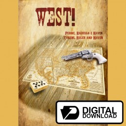 West! - Mappe e Tokens (Versione digitale)