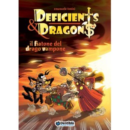 Deficients & Dragons: 1 - Il fiatone del drago vampone (fumetto)