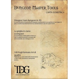Dungeon Master Tools: Carta isometrica