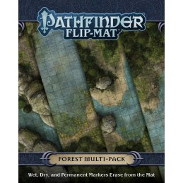 Pathfinder Flip-Mat: Foresta Multi-Pack
