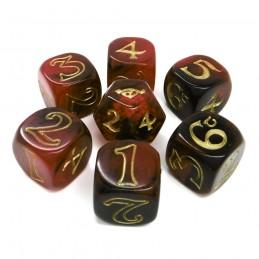 L'unico anello: Set di dadi Rosso e Nero