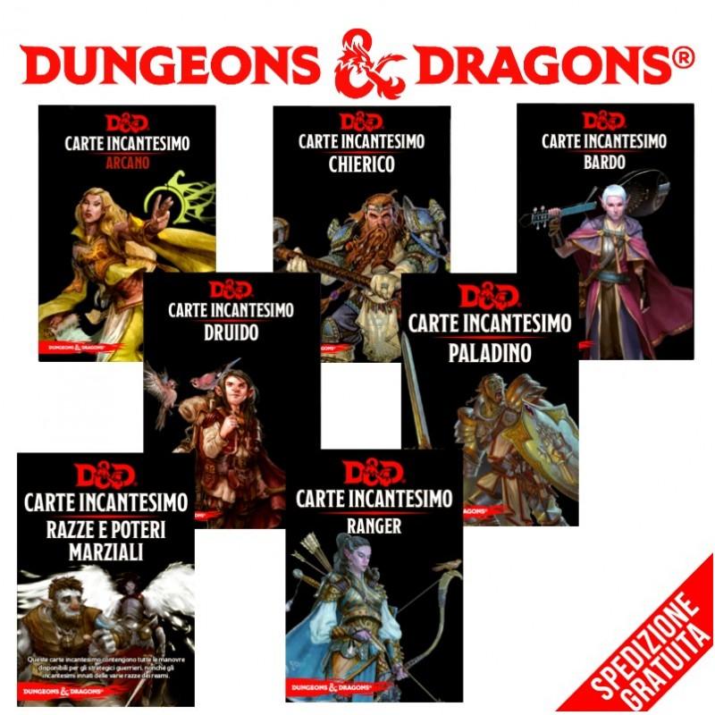 Dungeons & Dragons: Bundle Carte Incantesimo