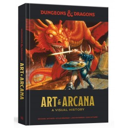 Dungeons & Dragons: Art & Arcana - A visual history (Art Book)