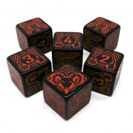 Shadowrun: Set di dadi Rosso / Nero