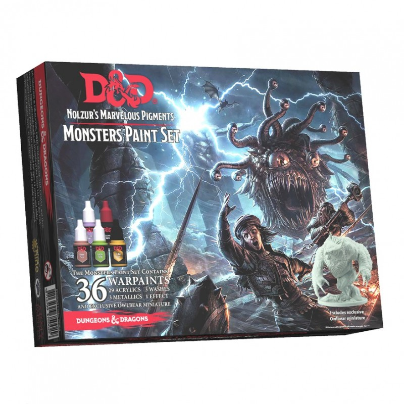 Dungeons & Dragons: Set di colori per Mostri
