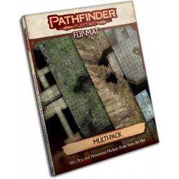 Pathfinder Playtest Flip-Mat: Multi-Pack