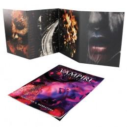 Vampiri - La Masquerade (5° Edizione): Schermo e Sussidi per il Narratore