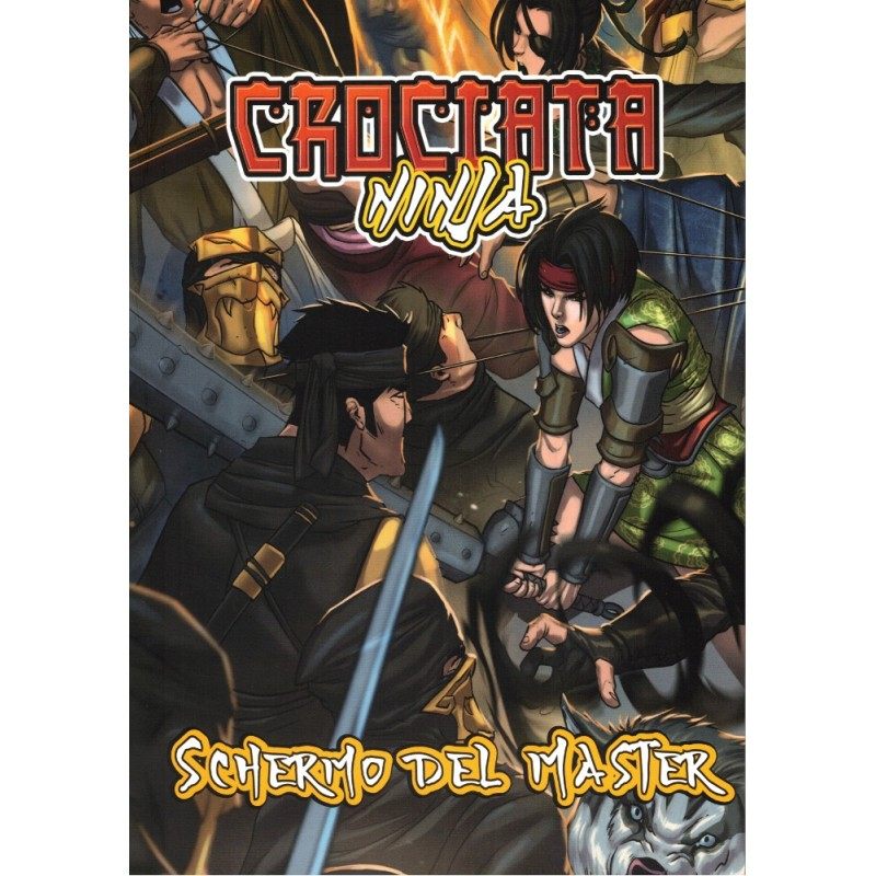 Crociata Ninja: Schermo del Master