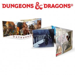 Dungeons & Dragons: Waterdeep - Schermo del DM