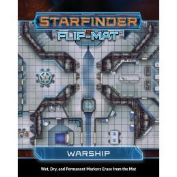 Starfinder Flip-Mat: Astronave da Guerra