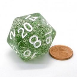 Eterei - Dado a 20 facce da 35 mm (Verde)
