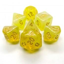 Opali - Set di dadi (Giallo)