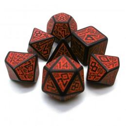 Nanici - Set di dadi (Nero / Rosso)