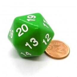 Countdown: Opaco - Dado a 20 facce da 30 mm Verde