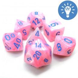 Pregiato - Set di dadi (Rosa / Blu)