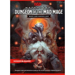 Dungeons & Dragons - Waterdeep: Il Dungeon del Mago Folle - Maps and Miscellany