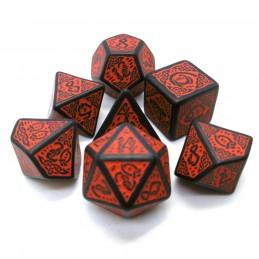 Celtici - Set di dadi (Nero / Rosso)