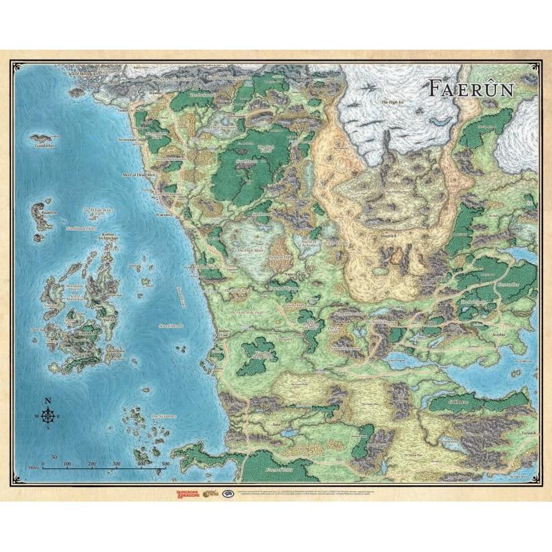 Dungeons & Dragons: Mappa del Faerun