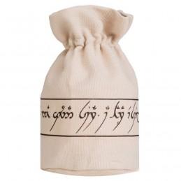 Sacchetto in stoffa con logo: Elfico - 9,5 x 13,5 cm