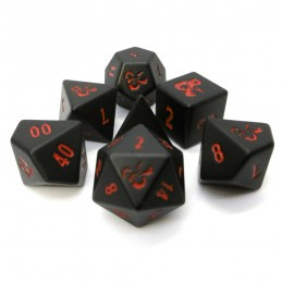 Dungeons & Dragons - Set di dadi in metallo pesante