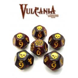 Vulcania: Set di dadi