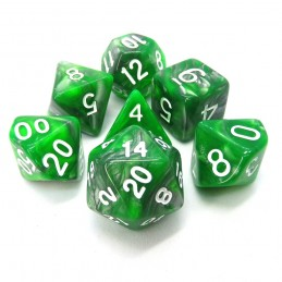 Smeraldo - Set di dadi...