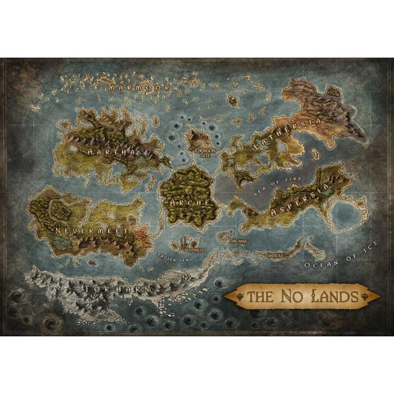 No Lands: Mappa del Mondo