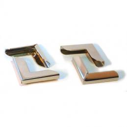 Angoli protettivi in metallo (Set di 4)