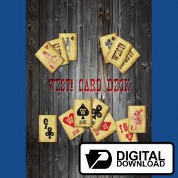 West! - Mazzo di carte (Versione digitale)