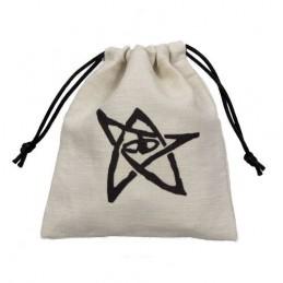 Sacchetto portadadi in stoffa con logo Cthulhu (11 x 12 cm)