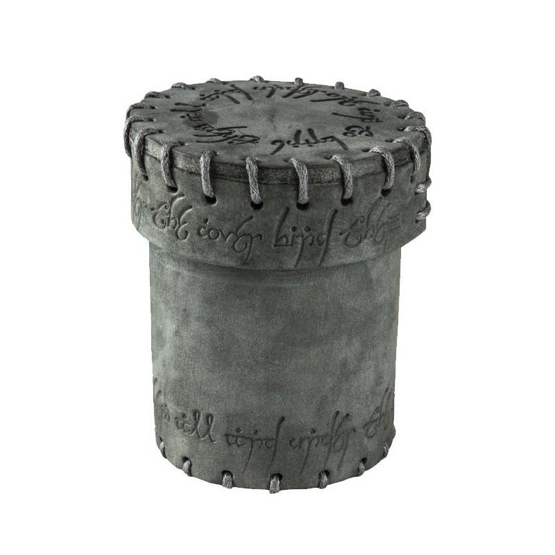 Bussolotto portadadi grafite con rune elfiche