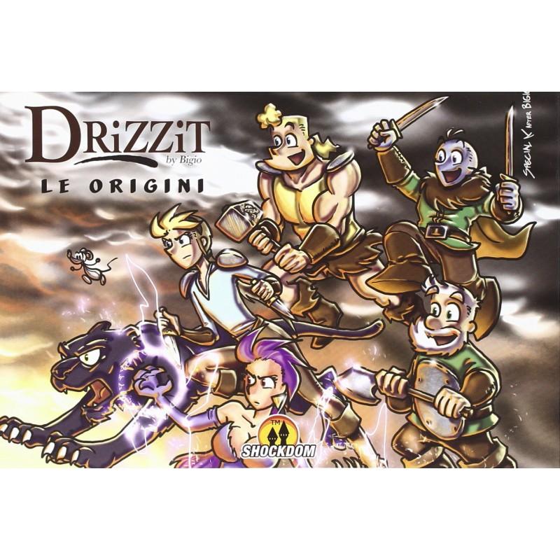 Drizzit (fumetto): Le origini