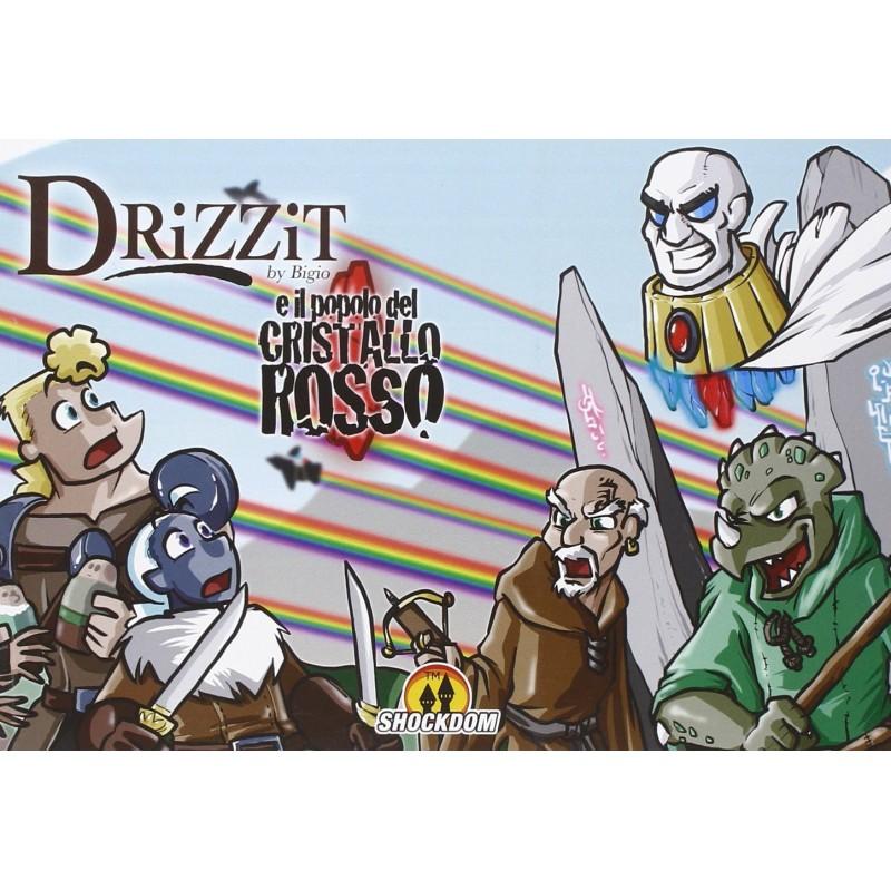 Drizzit - 5 - E il popolo del cristallo rosso
