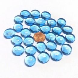 Pietrine segnapunti in vetro (Azzurre)