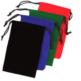 Sacchetto portadadi in stoffa (15 x 22,5 cm)