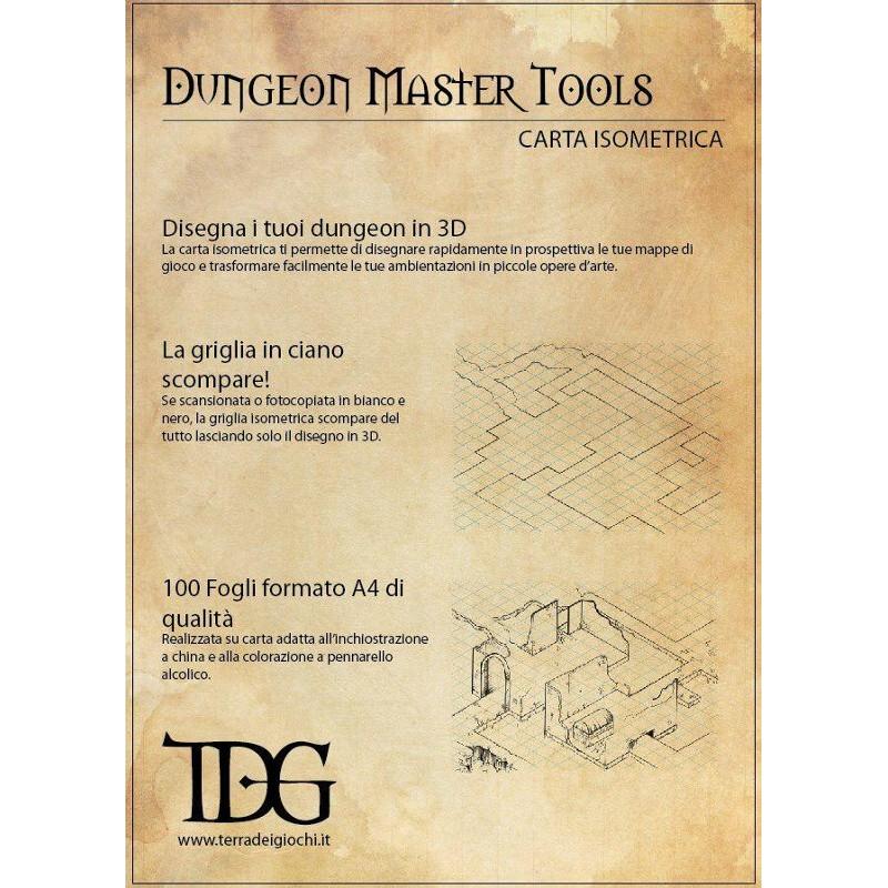Dungeon Master Tools: Carta isometrica