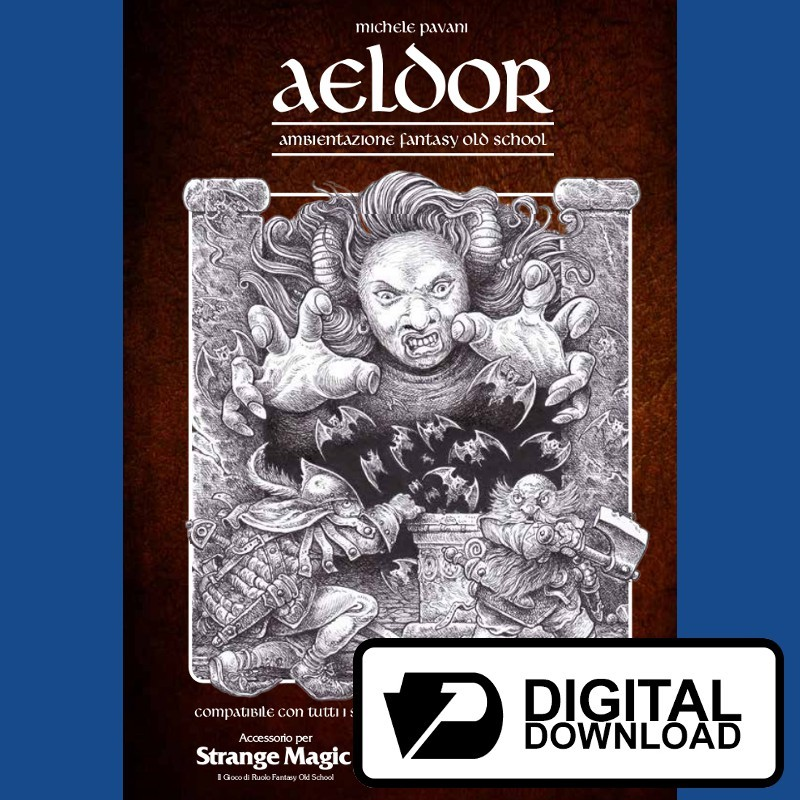 Aeldor (Ambientazione fantasy Old School) (Versione digitale)