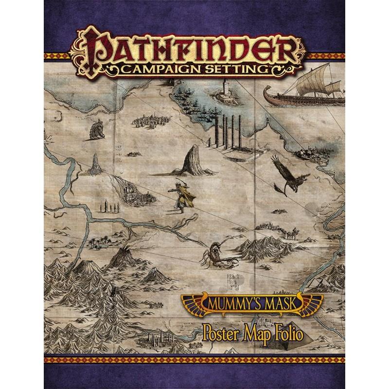 Pathfinder: Poster Map Folio - La maschera della mummia