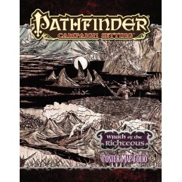 Pathfinder: Poster Map Folio - Ira dei giusti
