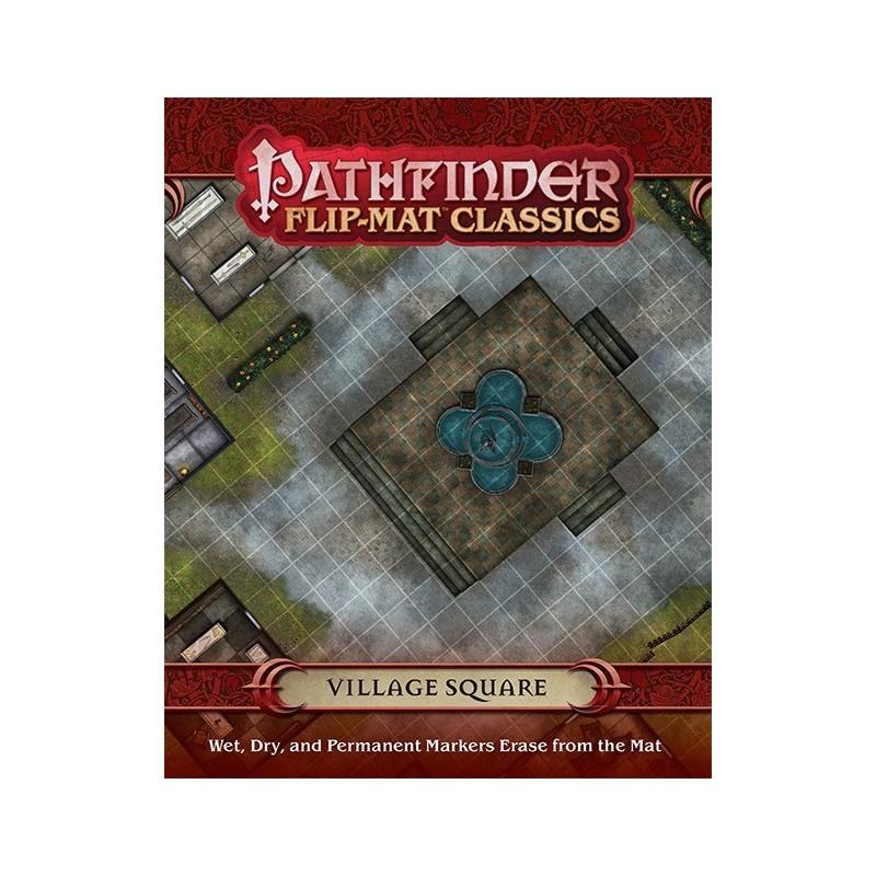 Pathfinder Flip-Mat Classics: Piazza del villaggio