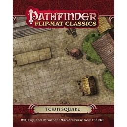 Pathfinder Flip-Mat Classics: Piazza di una città