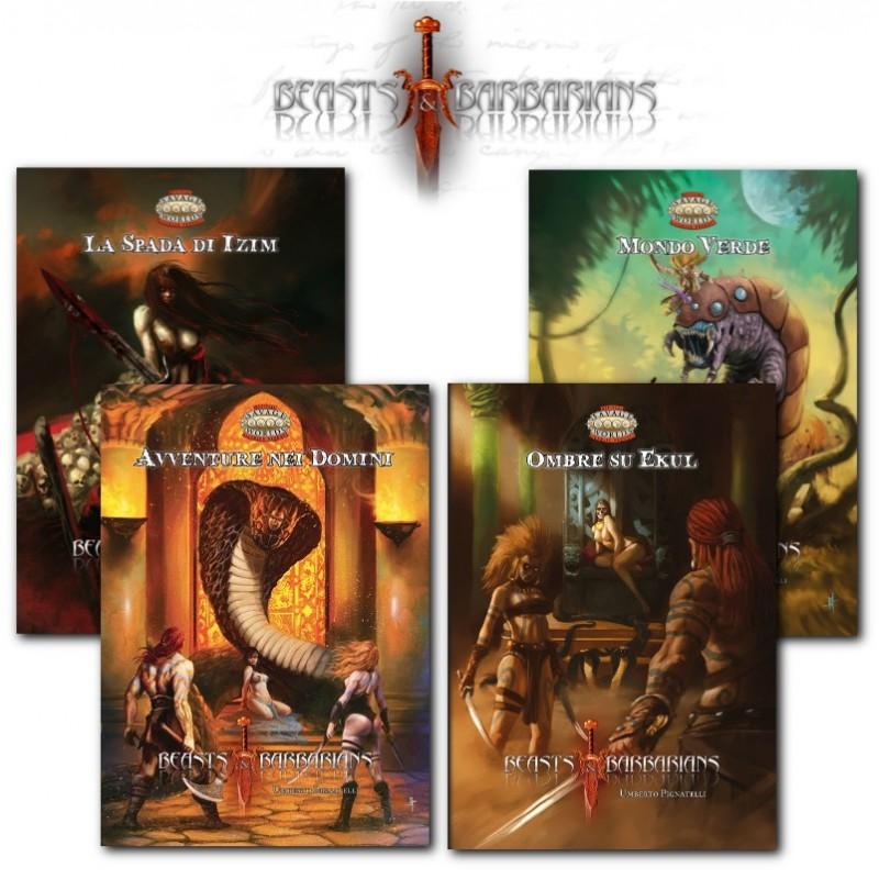 Beasts & Barbarians: Bundle Avventure