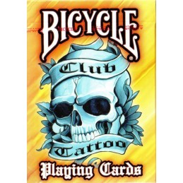 Bicycle: Carte da gioco Club Tattoo (Orange)