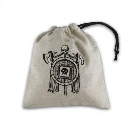 Sacchetto portadadi in stoffa con logo: Orschesco - 11 x 11 cm