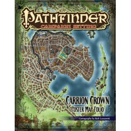 Pathfinder: Poster Map Folio - Morte Sovrana