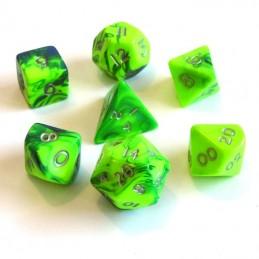 Tossici - Set di dadi (Verde / Azzurro)