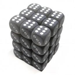 Ghiacciati - Set di dadi 36d6 (Grigio / Bianco)