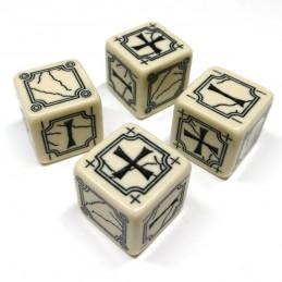 Fate: Set di dadi antichi (Beige)