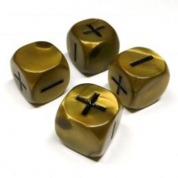 Fate: Set di dadi Olimpici - Oro