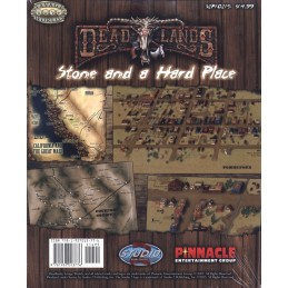 Deadlands: Stone and a Hard Place Poster Map